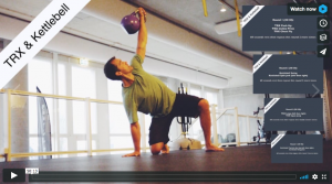 Real Time Training Videos mit TRX & Kettlebell